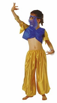 656cb9022e KOSTIUM TANCERKA ARABSKA KID MODEL 1 Just Dance sklep taneczny